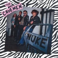 THE CAVEMEN -Nuke Earth- LP - cover