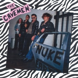 THE CAVEMEN -Nuke Earth- LP - cover